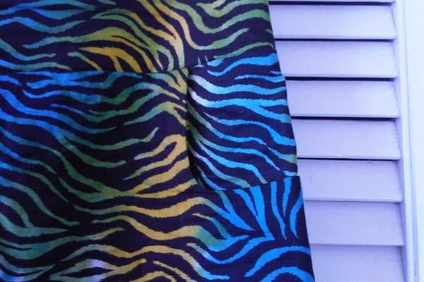 Wardrobe Rx 2012 - Zebra Pride Cotton Tailored Skirt