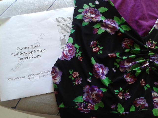 Abbey Dabbles > Pattern Testing Itch to Stitch Davina Dress